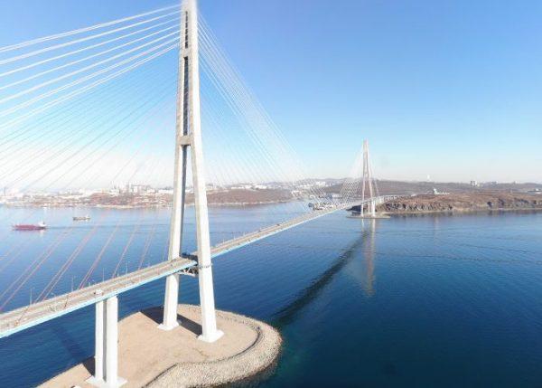 ウラジオストクの橋