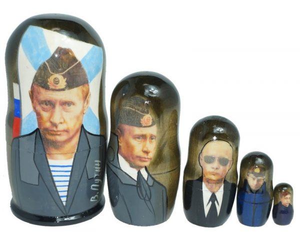 プーチン・マトリョーシカ